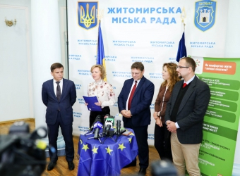 Energy Efficient information tour to Zhytomyr