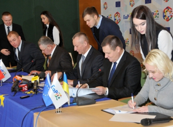 Trainings and Grant Contracts Signing Ceremony within the framework of the Belarus – Ukraine Eastern Partnership Territorial Cooperation Programme (EaPTC)