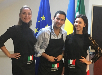 Production of promo items for the Embassy of Italy to Ukraine – 2018