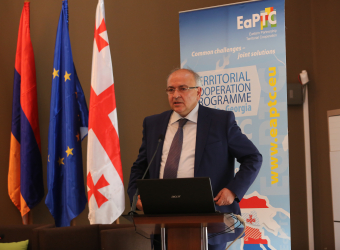 Media event within the framework of the Closing Conference of Eastern Partnership Territorial Cooperation Programme Armenia-Georgia – Gyumri, Armenia, June 16, 2017